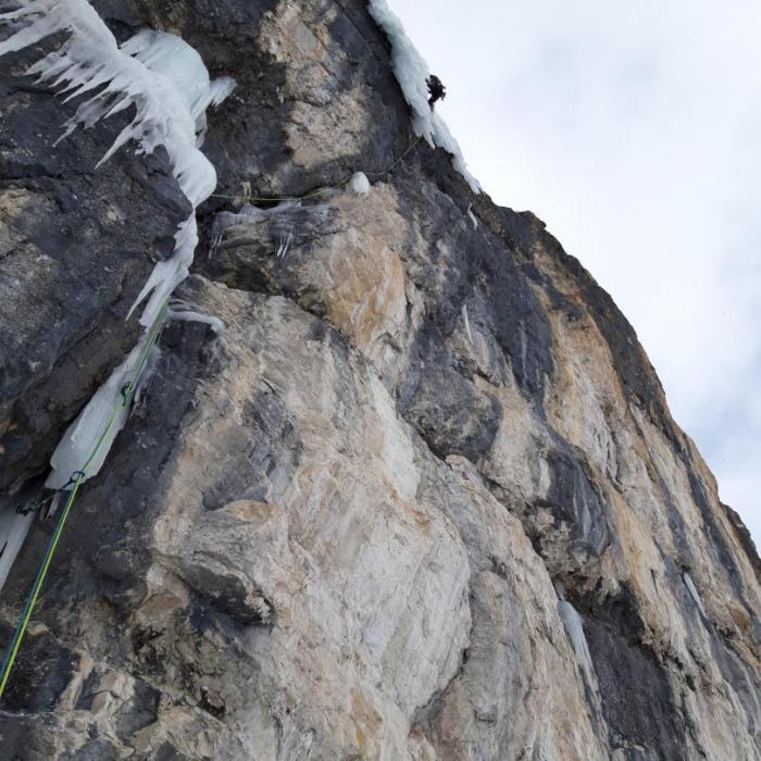 """""""Seitensprung"""", Col Turont (Langental, Dolomiten)"""