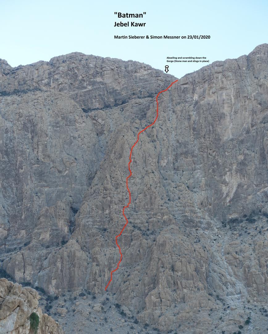 """Batman"", Jebel Kawr (Oman)"