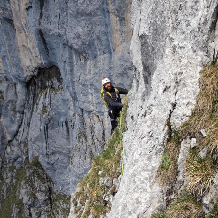 """Eine Reise in die alpine Historie… Wiederholung der """"Buhl"""" an der Maukspitze"""